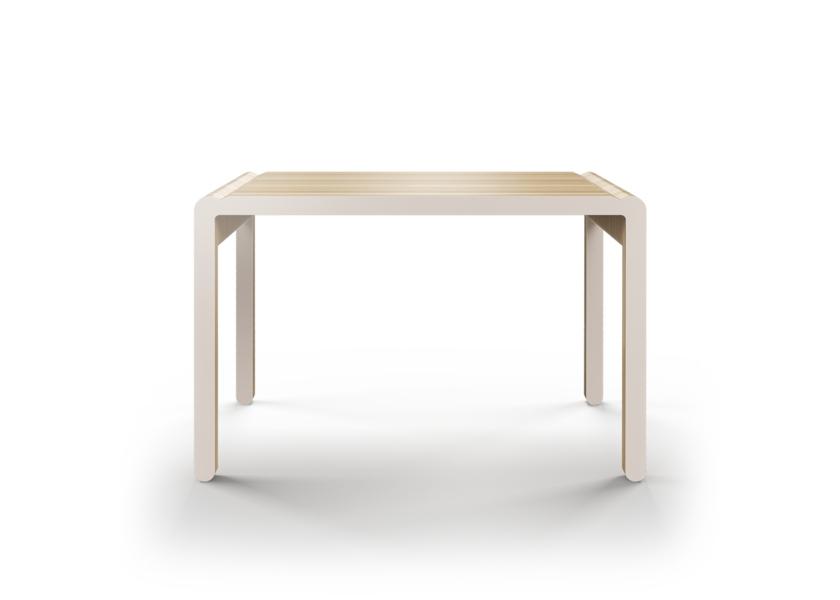 Стол M?nster?s rundaОбеденные столы<br>Скандинавский дизайн с его любовью к простоте и дереву. Окрас элементов стола в молочный цвет. Сборка не требуется. Данный стол производится в 5 размерах.<br><br>Material: Фанера<br>Width см: 110<br>Depth см: 60<br>Height см: 75