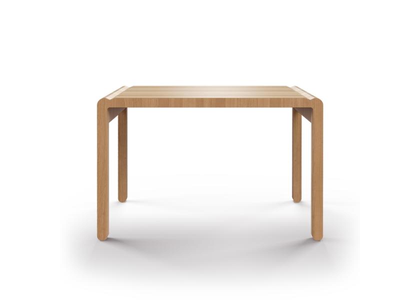 Стол M?nster?s rundaОбеденные столы<br>Скандинавский дизайн с его любовью к простоте и дереву. Отделка шпоном дуба. Сборка не требуется. Данный стол производится в 5 размерах.<br><br>Material: Фанера<br>Ширина см: 110.0<br>Высота см: 75.0<br>Глубина см: 60.0
