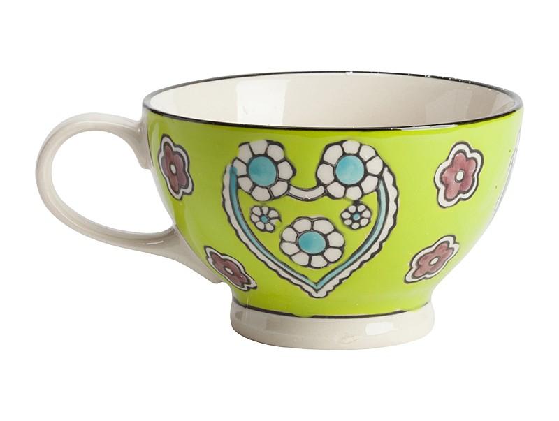 Чашка KamilleЧайные пары, чашки и кружки<br>&amp;lt;span style=&amp;quot;line-height: 24.9999px;&amp;quot;&amp;gt;Чашка, раскрашенная вручную&amp;amp;nbsp;&amp;lt;/span&amp;gt;<br><br>Material: Керамика<br>Высота см: 12