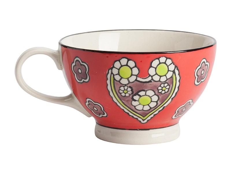Чашка LeoneЧайные пары, чашки и кружки<br>Чашка, раскрашенная вручную&amp;amp;nbsp;<br><br>Material: Керамика<br>Высота см: 12