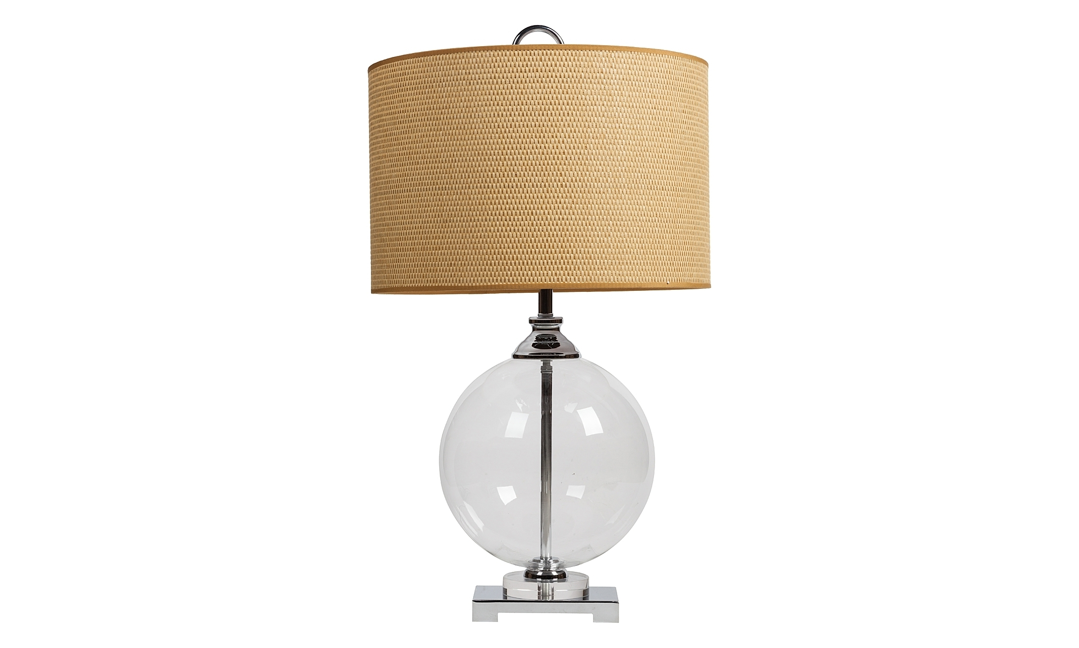 Настольная лампа Catalan UttermostДекоративные лампы<br>&amp;lt;div&amp;gt;Цоколь: E27&amp;lt;/div&amp;gt;&amp;lt;div&amp;gt;Мощность ламп: 60W&amp;lt;/div&amp;gt;&amp;lt;div&amp;gt;Количество лампочек: 1&amp;lt;/div&amp;gt;&amp;lt;div&amp;gt;Максимальная площадь освещения: 4&amp;lt;/div&amp;gt;&amp;lt;div&amp;gt;Материал: Металл, Стекло, Ткань&amp;lt;/div&amp;gt;<br><br>Material: Металл<br>Height см: 68<br>Diameter см: 38