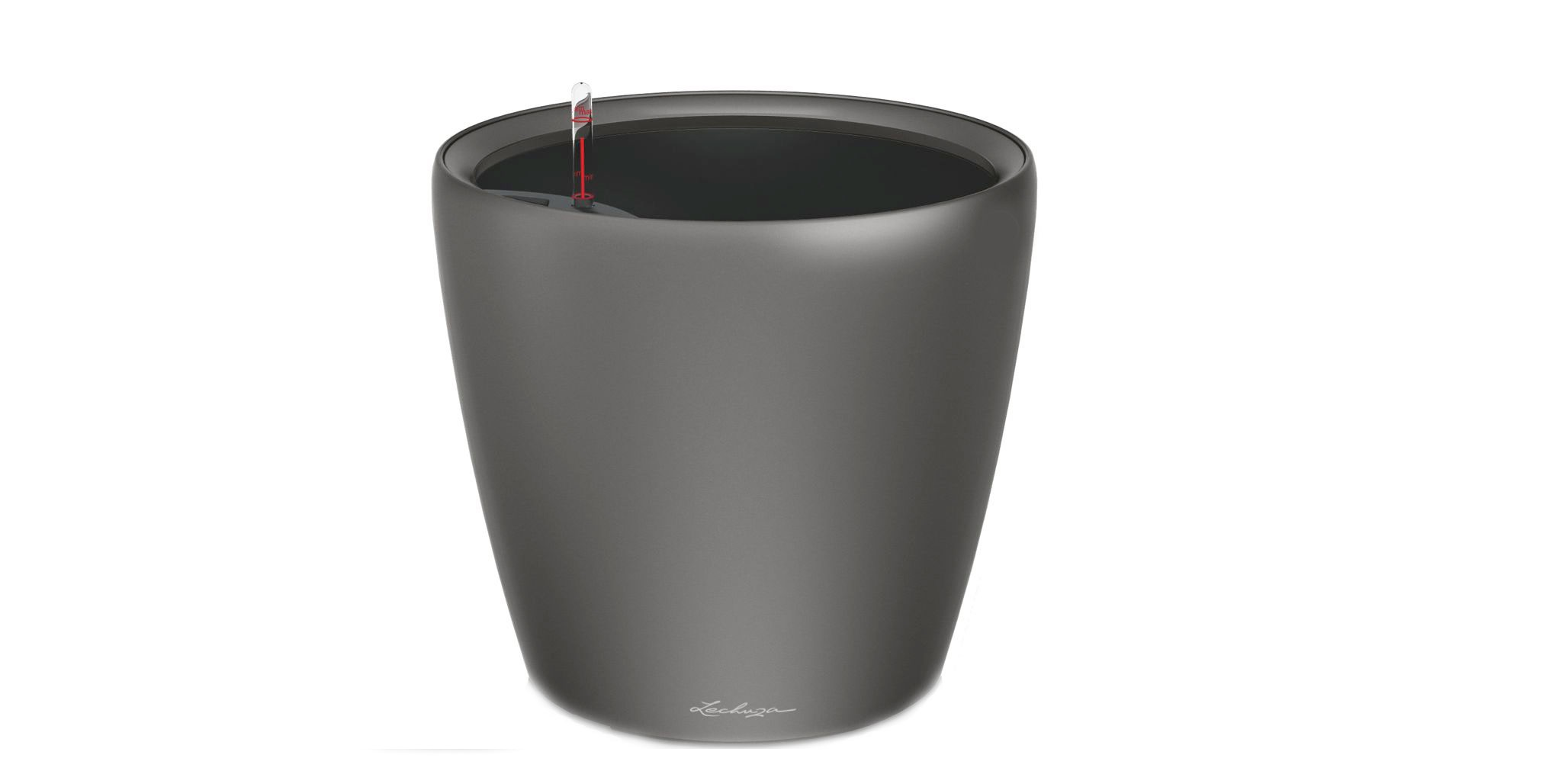 Кашпо с системой полива Классико LSКашпо<br><br><br>Material: Пластик<br>Height см: 40<br>Diameter см: 43