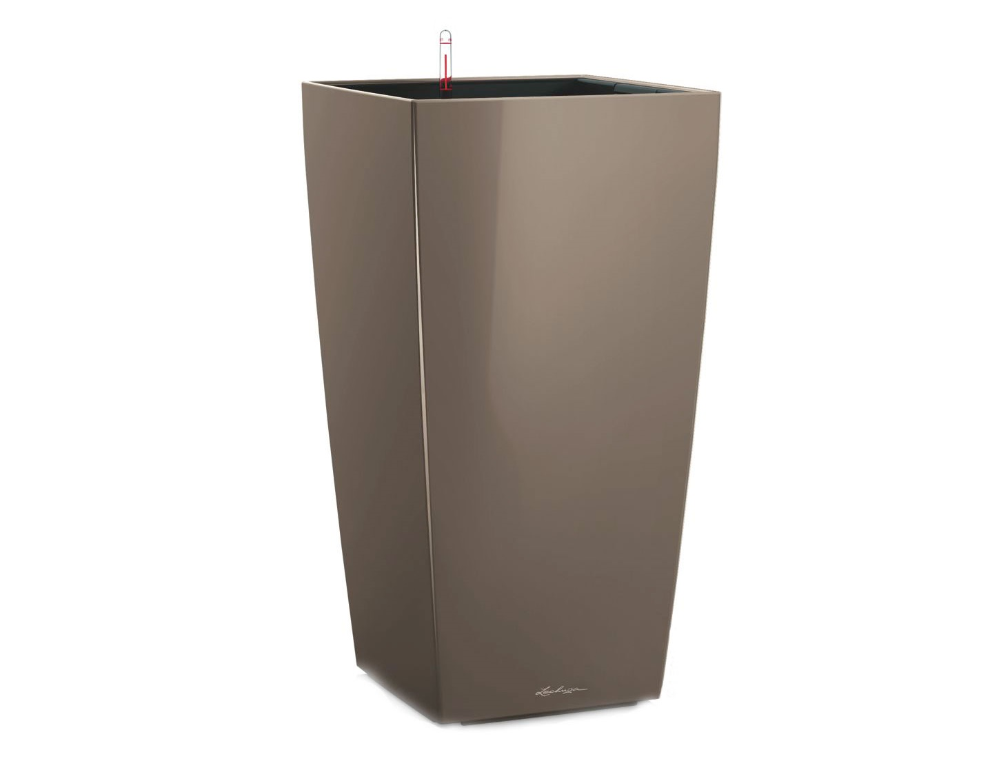 Кашпо с системой полива КубикоКашпо<br><br><br>Material: Пластик<br>Width см: 22<br>Depth см: 22<br>Height см: 41