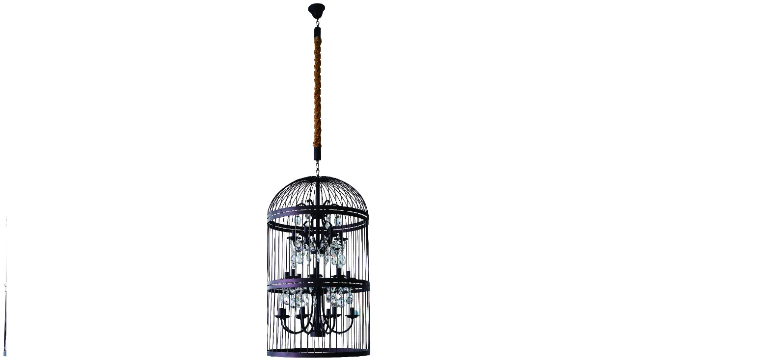 люстра-birdcage