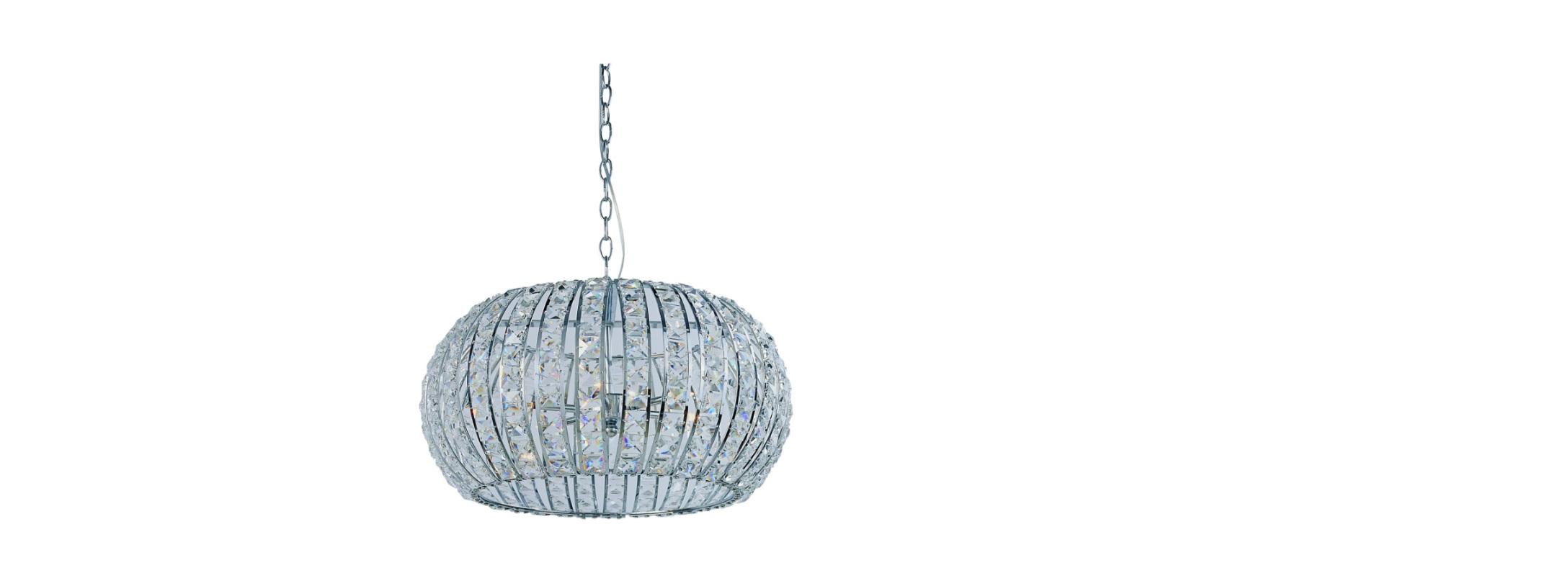 Подвесной светильник ElbaПодвесные светильники<br>Люстра Elba очаровывает своим роскошным внешним видом. С ней в помещении становится невероятно комфортно и гламурно. Она будет великолепно выглядеть в интерьерах классической и современной стилистики.&amp;lt;div&amp;gt;&amp;lt;br&amp;gt;&amp;lt;/div&amp;gt;&amp;lt;div&amp;gt;&amp;lt;span style=&amp;quot;line-height: 1.78571;&amp;quot;&amp;gt;Материал: Металл+Кристаллы.&amp;amp;nbsp;&amp;lt;/span&amp;gt;&amp;lt;/div&amp;gt;&amp;lt;div&amp;gt;&amp;lt;span style=&amp;quot;line-height: 1.78571;&amp;quot;&amp;gt;Цвет: Хром.&amp;lt;/span&amp;gt;&amp;lt;br&amp;gt;&amp;lt;/div&amp;gt;&amp;lt;div&amp;gt;&amp;lt;div&amp;gt;&amp;lt;span style=&amp;quot;line-height: 1.78571;&amp;quot;&amp;gt;&amp;lt;br&amp;gt;&amp;lt;/span&amp;gt;&amp;lt;/div&amp;gt;&amp;lt;div&amp;gt;&amp;lt;span style=&amp;quot;line-height: 1.78571;&amp;quot;&amp;gt;Тип цоколя: G9.&amp;lt;br&amp;gt;&amp;lt;/span&amp;gt;&amp;lt;/div&amp;gt;&amp;lt;div&amp;gt;Количество ламп: 6.&amp;lt;/div&amp;gt;&amp;lt;/div&amp;gt;&amp;lt;div&amp;gt;&amp;lt;div&amp;gt;&amp;lt;span style=&amp;quot;line-height: 1.78571;&amp;quot;&amp;gt;Мощность: 40W.&amp;amp;nbsp;(нет в комплекте)&amp;lt;/span&amp;gt;&amp;lt;br&amp;gt;&amp;lt;/div&amp;gt;&amp;lt;/div&amp;gt;<br><br>Material: Металл<br>Height см: 47<br>Diameter см: 42