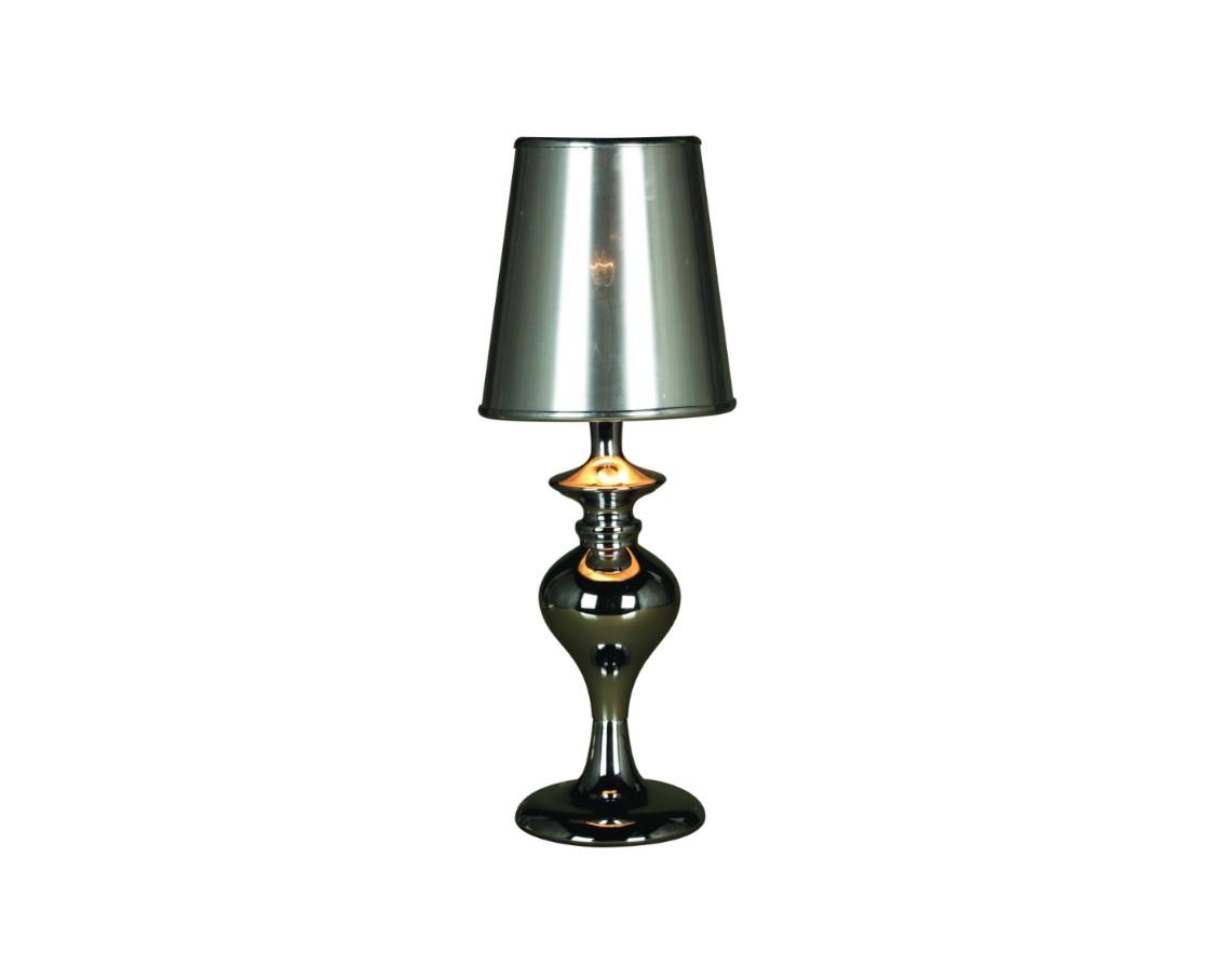 Декоративная лампа AvitusДекоративные лампы<br>Изысканная и элегантная лампа Avitus демонстрирует строгий современный дизайн и простые формы. Несомненно эта лампа займёт достойное место на вашем столе и сможет украсить интерьер своим присутствием.&amp;lt;div&amp;gt;&amp;lt;br&amp;gt;&amp;lt;/div&amp;gt;&amp;lt;div&amp;gt;Вид цоколя: E14. Количество ламп: 1. Мощность: 25W. Лампа в комплекте не поставляется.&amp;lt;br&amp;gt;&amp;lt;/div&amp;gt;<br><br>Material: Металл<br>Высота см: 39