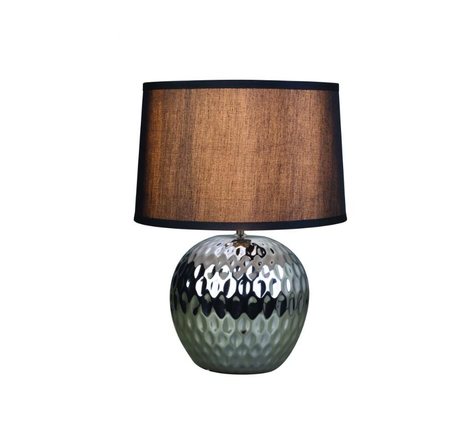 Декоративная лампа TomiДекоративные лампы<br>Современная и стильная модель с оригинальным основанием выглядит стильно и элегантно.За счет своего абажура темного цвета, она довольно выгодно сыграет на контрасте с любым цветовым решением Вашего интерьера.&amp;lt;div&amp;gt;&amp;lt;br&amp;gt;&amp;lt;/div&amp;gt;&amp;lt;div&amp;gt;Вид цоколя: E27. Количество ламп: 1.&amp;amp;nbsp;&amp;lt;span style=&amp;quot;line-height: 24.9999px;&amp;quot;&amp;gt;Мощность: 40W. Лампа в комплекте не поставляется.&amp;lt;/span&amp;gt;&amp;lt;br&amp;gt;&amp;lt;/div&amp;gt;<br><br>Material: Металл<br>Height см: 45<br>Diameter см: 33