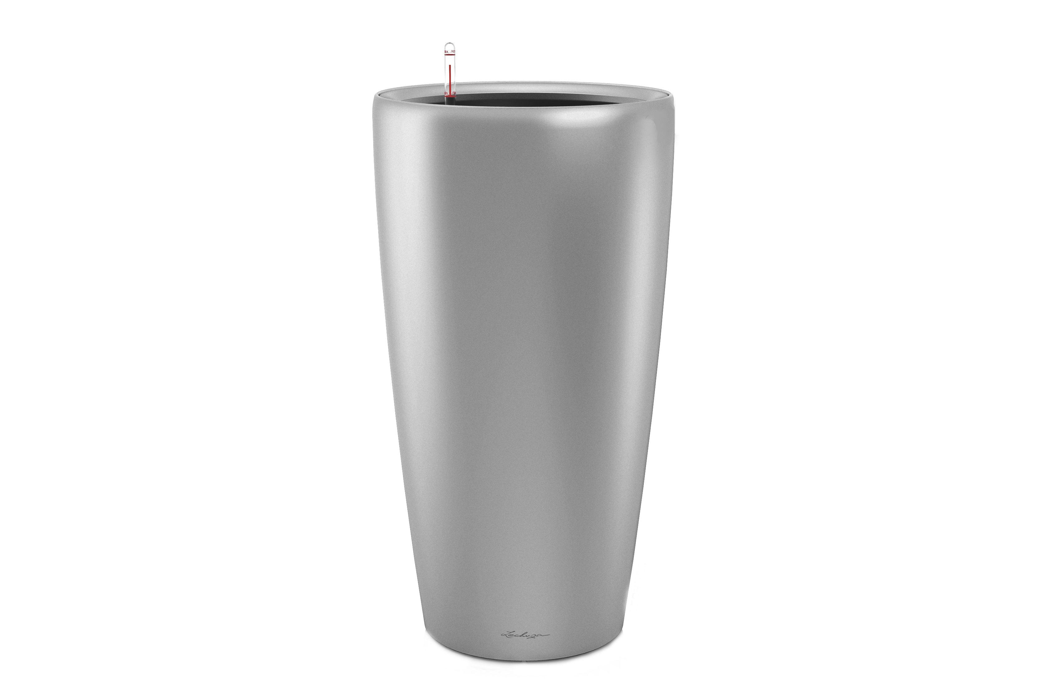 Кашпо с системой полива РондоКашпо<br><br><br>Material: Пластик<br>Height см: 56<br>Diameter см: 33