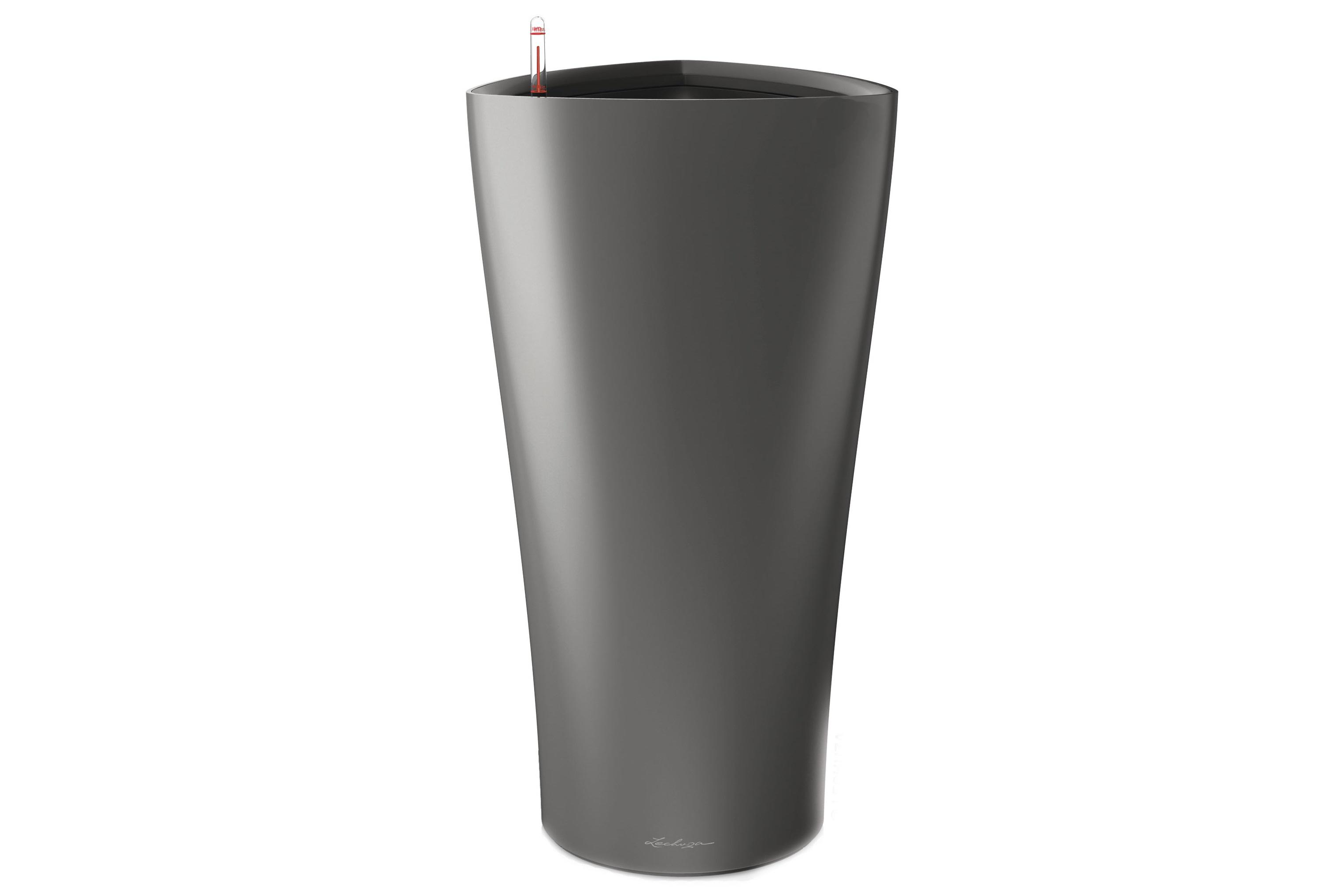 Кашпо с системой полива ДельтаКашпо и аксессуары для цветов<br><br><br>Material: Пластик<br>Width см: 30<br>Depth см: 30<br>Height см: 56