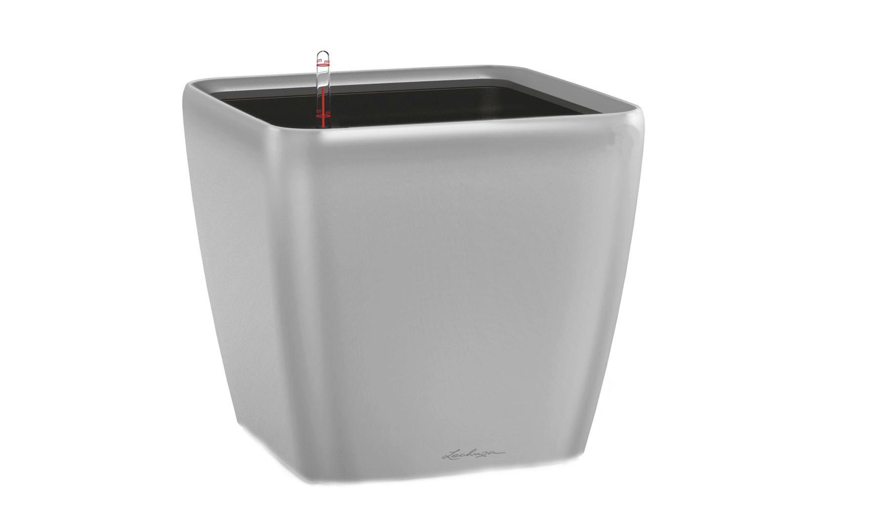 Кашпо с системой полива Квадро LSКашпо и аксессуары для цветов<br>Кашпо со съемным горшком.<br><br>Material: Пластик<br>Width см: 22<br>Depth см: 22<br>Height см: 21