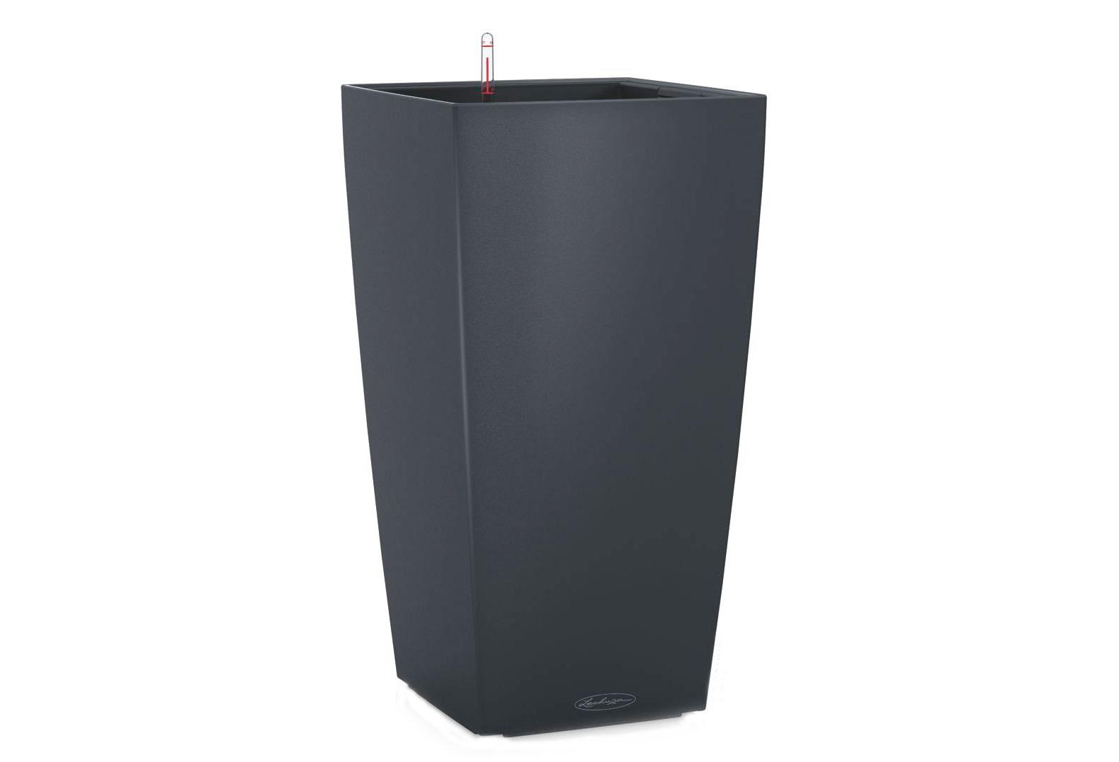 Кашпо с системой полива Кубико КолорКашпо<br>Кашпо со съемным горшком.<br><br>Material: Пластик<br>Width см: 40<br>Depth см: 40<br>Height см: 75