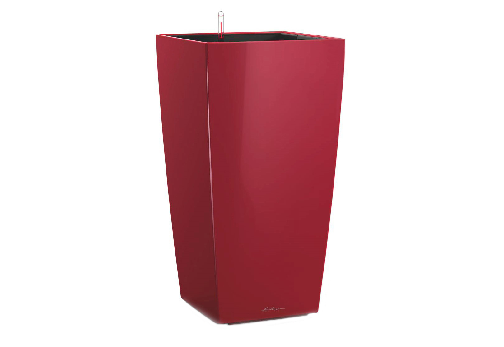 Кашпо с системой полива КубикоКашпо<br>Кашпо со съемным горшком.<br><br>Material: Пластик<br>Width см: 30<br>Depth см: 30<br>Height см: 56