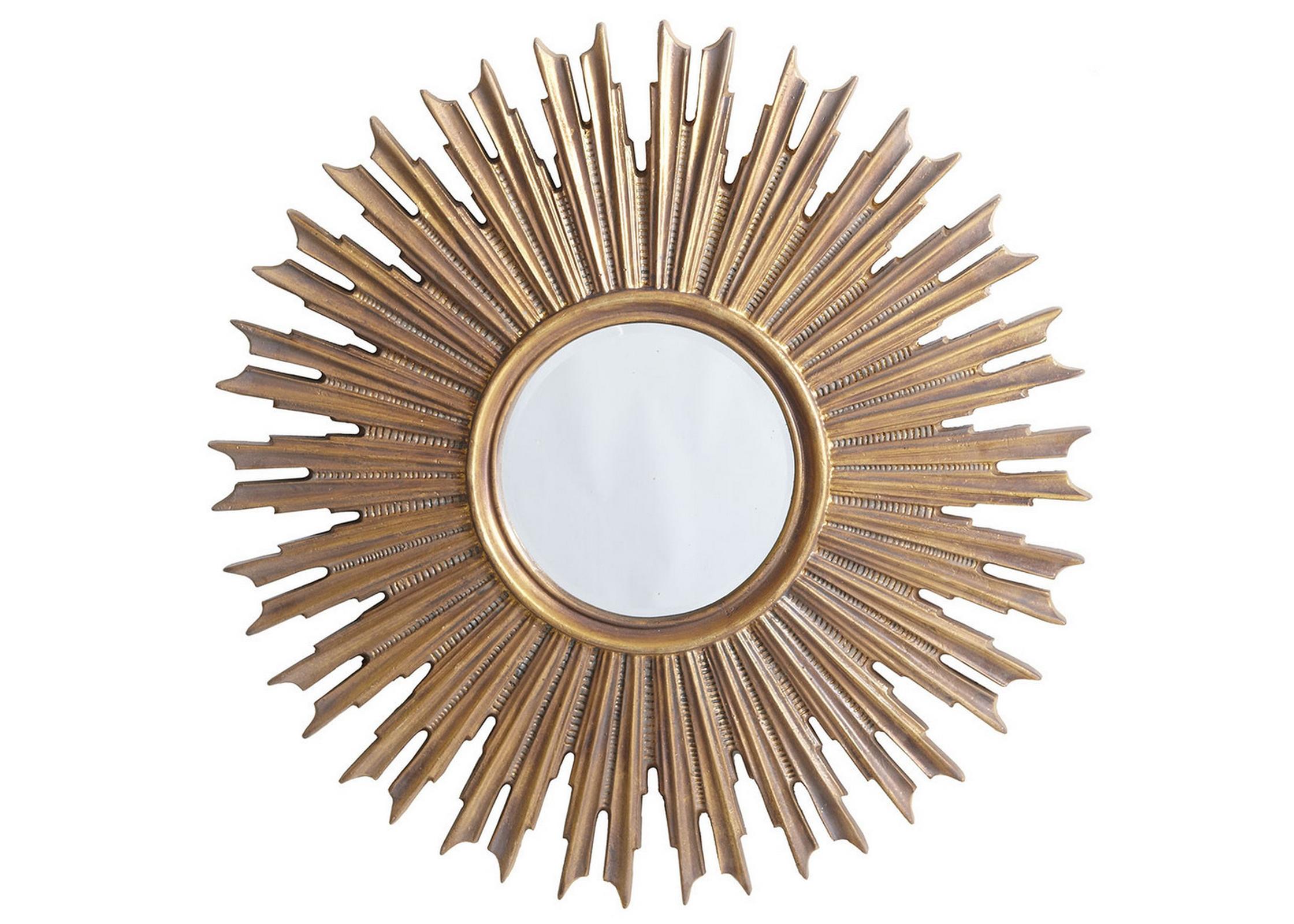 Зеркало ЭллисонНастенные зеркала<br>Материал: дерево, полиуретан.<br><br>Material: Пластик<br>Depth см: 3<br>Diameter см: 100