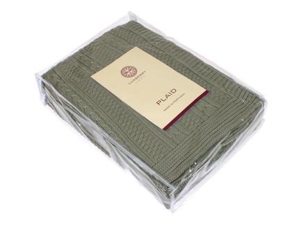 Плед imperio 10 (luxberry) зеленый 200x150 см.