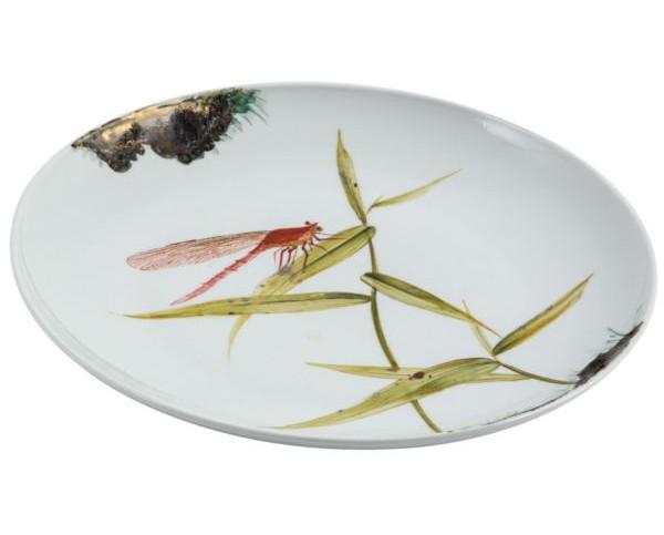 Тарелка декоративнаяДекоративные тарелки<br><br><br>Material: Керамика<br>Depth см: 4<br>Diameter см: 39