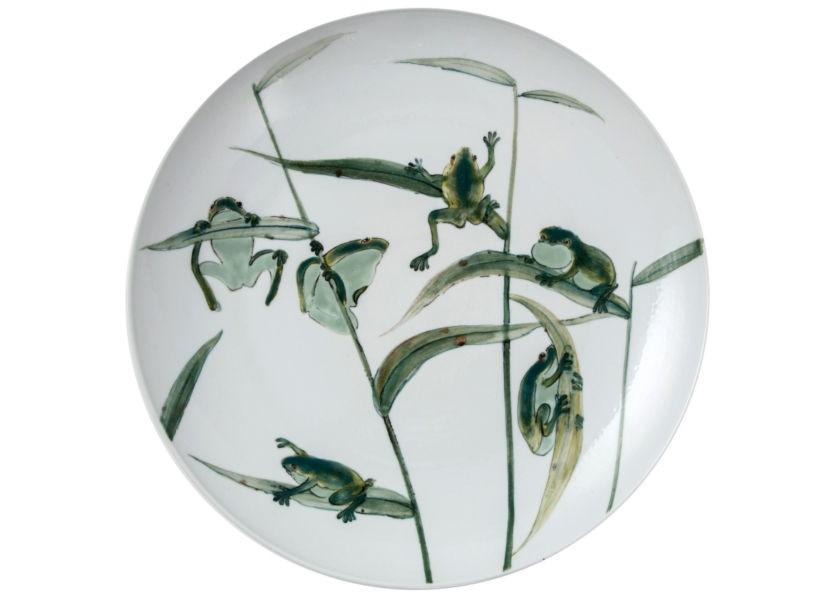 Тарелка декоративнаяДекоративные тарелки<br><br><br>Material: Керамика<br>Глубина см: 4