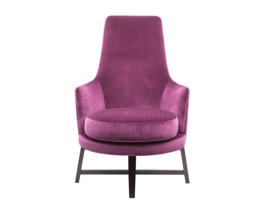 Кресло Home SpaceИнтерьерные кресла<br>Эта коллекция кресел невероятной формы задаст тон элегантной эклектики любому интерьеру. Строгие тона обивки подарят пространству благородство и сдержанность, а модели, обтянутые яркой кожей, сделают гостиную или кабинет модными и стильными. Мягкое сидение и подголовник позволят мгновенно расслабиться после трудного дня.<br><br>Material: Текстиль<br>Width см: 65<br>Depth см: 90<br>Height см: 96