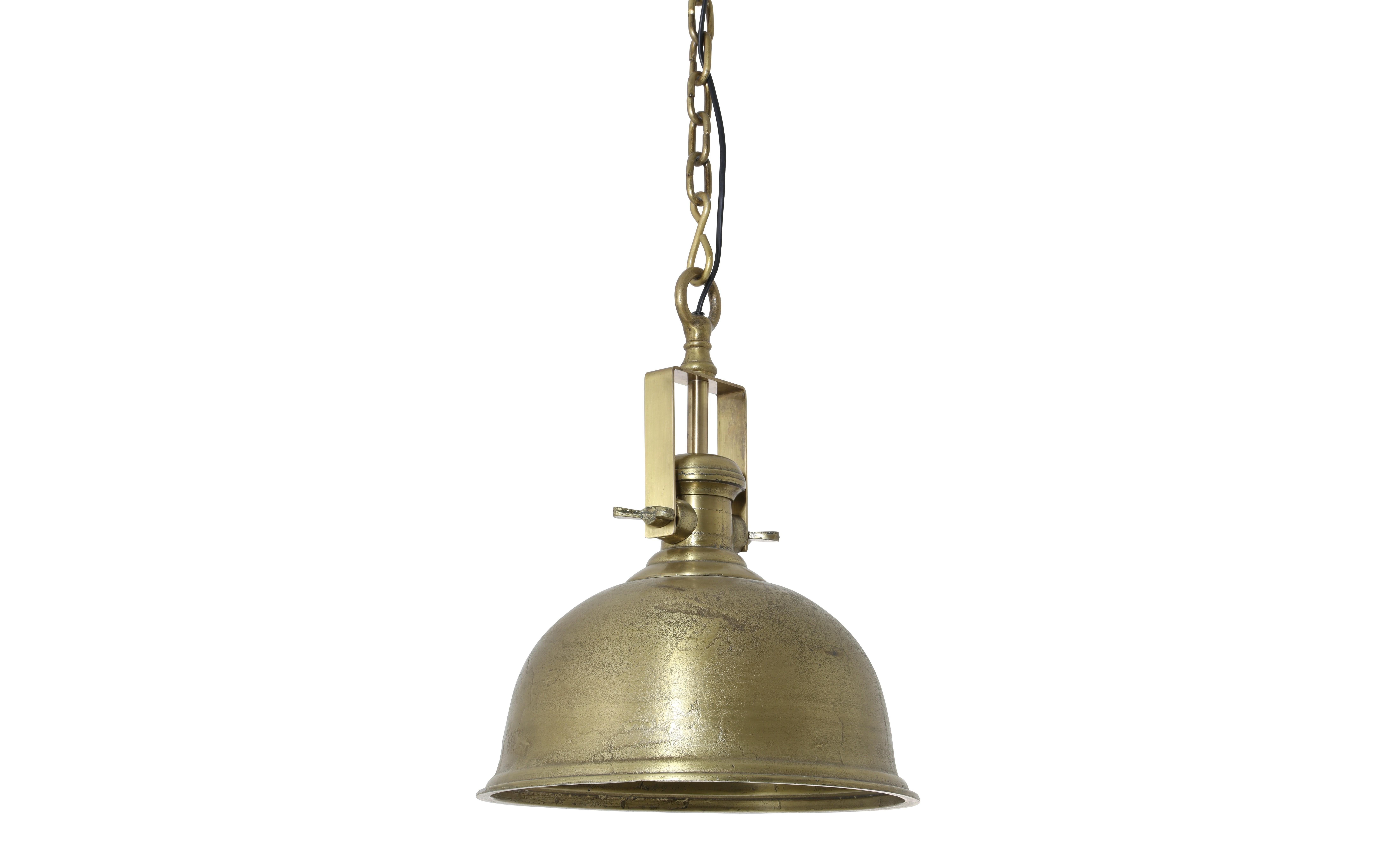 Потолочный светильник KennedyПодвесные светильники<br>Потолочный светильник золотого цвета от голландского бренда light &amp;amp;amp; living. Добавьте модные акценты стильного освещения в столовой, гостиной или на кухне.&amp;amp;nbsp;&amp;lt;div&amp;gt;&amp;lt;br&amp;gt;&amp;lt;div&amp;gt;Вид цоколя: Е27,&amp;amp;nbsp;&amp;lt;/div&amp;gt;&amp;lt;div&amp;gt;Мощность лампочки: 40W,&amp;amp;nbsp;&amp;lt;/div&amp;gt;&amp;lt;div&amp;gt;Кол-во лампочек 1 (в комплект не входит).&amp;lt;/div&amp;gt;&amp;lt;/div&amp;gt;<br><br>Material: Металл<br>Height см: 48<br>Diameter см: 38