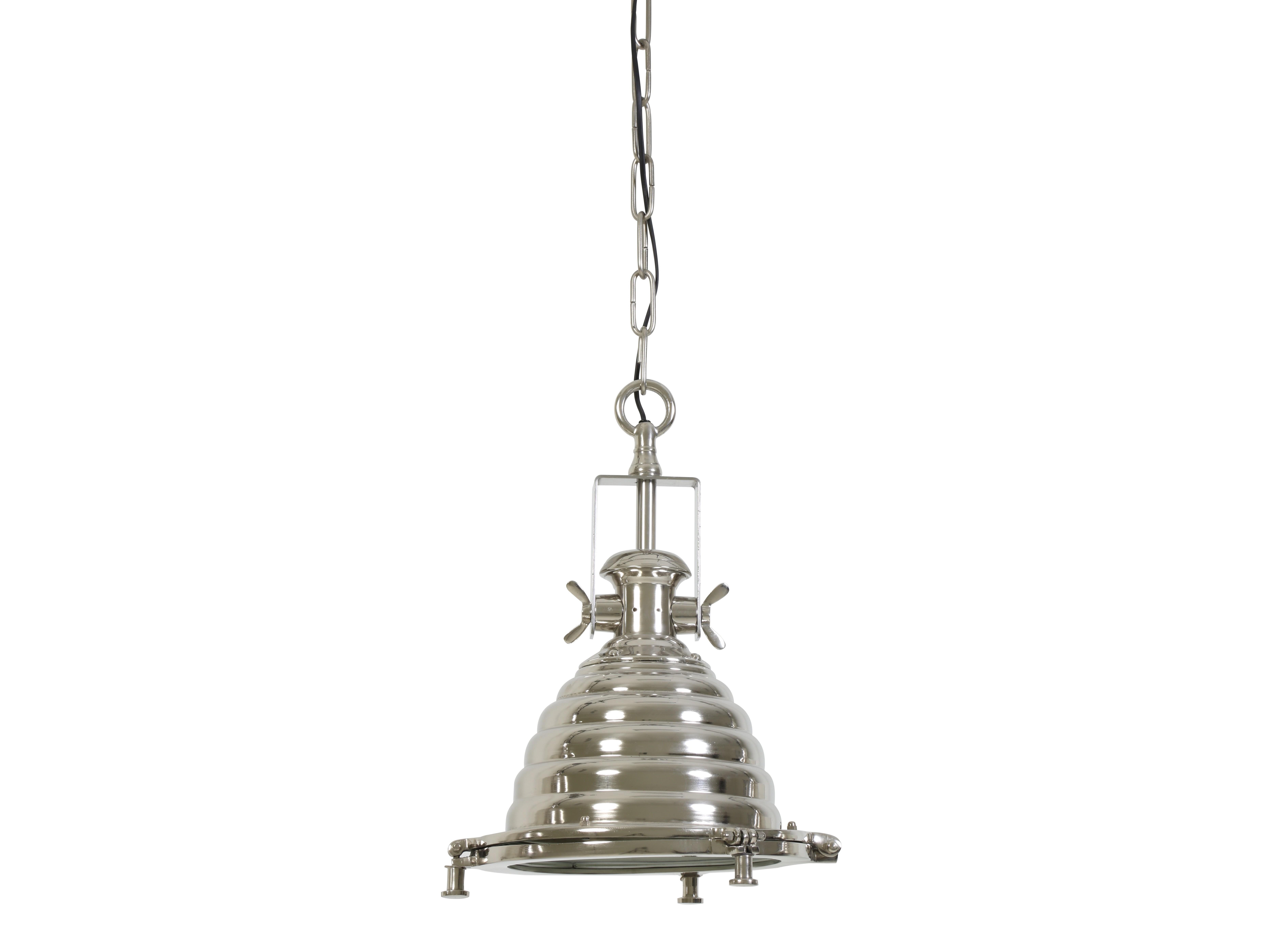 Потолочный светильник NyborgПодвесные светильники<br>Потолочный светильник с серебрянным плафоном от голландского бренда light &amp;amp;amp; living. Модное дизайнерское решение для современных интерьеров гостиной и столовой.&amp;amp;nbsp;&amp;lt;div&amp;gt;&amp;lt;br&amp;gt;&amp;lt;div&amp;gt;Вид цоколя: Е27,&amp;amp;nbsp;&amp;lt;/div&amp;gt;&amp;lt;div&amp;gt;Мощность лампочки: 40W,&amp;amp;nbsp;&amp;lt;/div&amp;gt;&amp;lt;div&amp;gt;Кол-во лампочек 1 (в комплект не входит).&amp;lt;/div&amp;gt;&amp;lt;/div&amp;gt;<br><br>Material: Металл<br>Height см: 48<br>Diameter см: 31