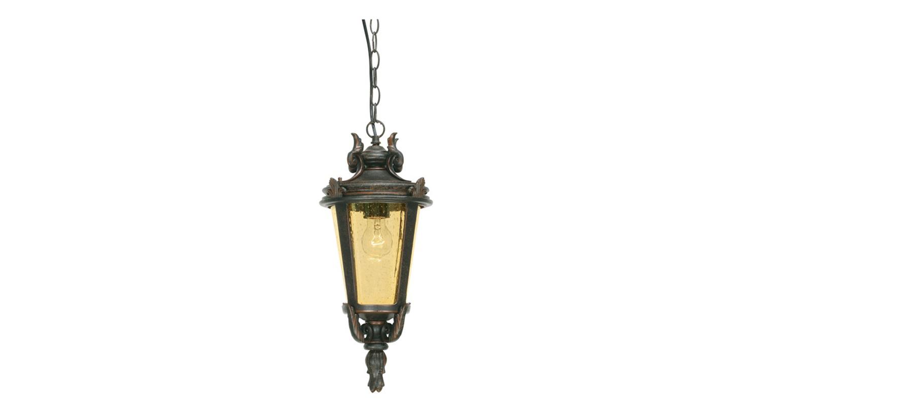 Подвесной фонарь Elstead ExteriorУличные подвесные и потолочные светильники<br>Цоколь: E27.&amp;lt;div&amp;gt;Мощность: 100W.&amp;lt;/div&amp;gt;&amp;lt;div&amp;gt;Количество ламп: 1.&amp;lt;/div&amp;gt;&amp;lt;div&amp;gt;Цвет: закаленная бронза.&amp;lt;/div&amp;gt;<br><br>Material: Металл<br>Ширина см: 22<br>Высота см: 43