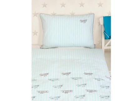 Комплект постельного белья aviator (luxberry) серый 150x210 см.