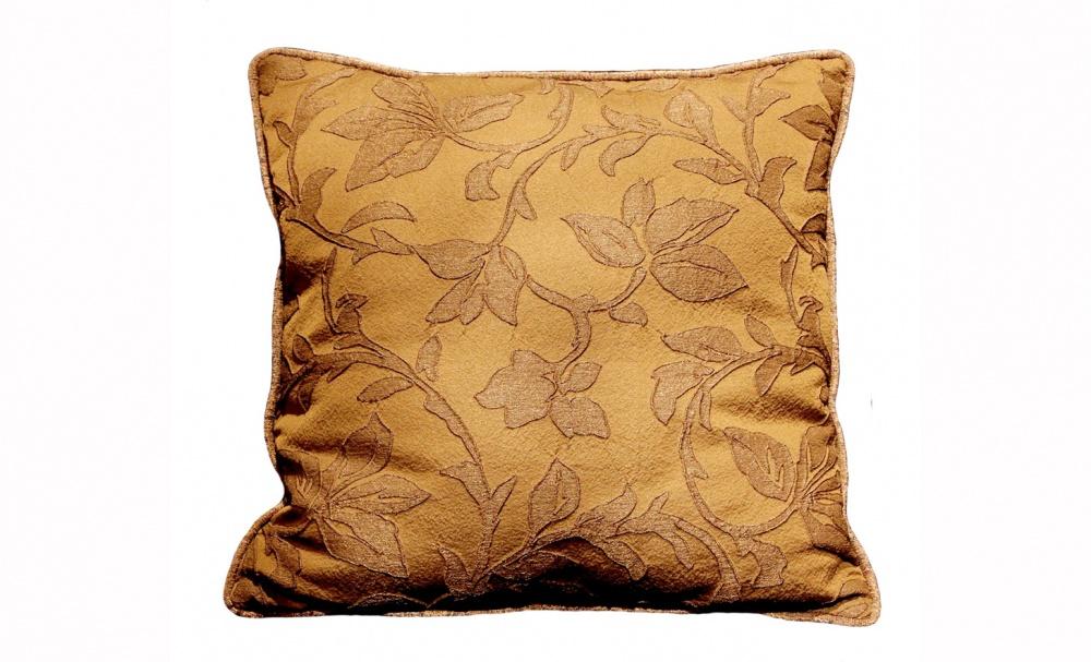 Подушка Шоколадный листопадКвадратные подушки<br>Двусторонняя подушка.<br><br>Material: Текстиль<br>Width см: 50<br>Depth см: 5<br>Height см: 50