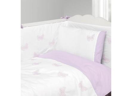 Комплект постельного белья бабочки new (luxberry) белый 100x140 см.