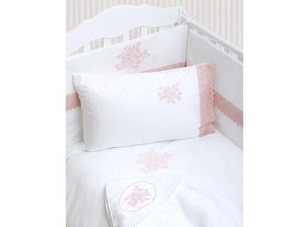 Комплект постельного белья rose (luxberry) белый 100x140 см.