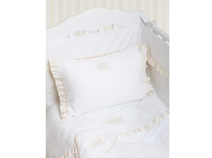 Комплект постельного белья queen (luxberry) белый 100x140 см.