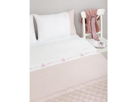 Комплект постельного белья sweet life (luxberry) белый 140x205 см.