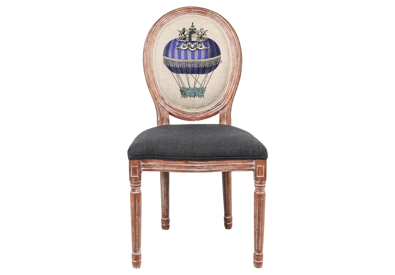 Стул «Монгольфьер» версия 5Обеденные стулья<br>Погружаясь в фантастический дизайн, не забывайте о практичности и долговечности Вашей мебели. Корпус стула &amp;quot;Монгольфьер&amp;quot; изготовлен из натурального дуба, древесина которого отличается крепостью и твёрдостью. Удобство и прочность сиденья обеспечены подвеской из эластичных ремней. Обивка оснащена тефлоновым покрытием против пятен. Мягкость ткани обладает эффектом истинного комфорта.<br><br>Material: Дерево<br>Ширина см: 50<br>Высота см: 95<br>Глубина см: 55