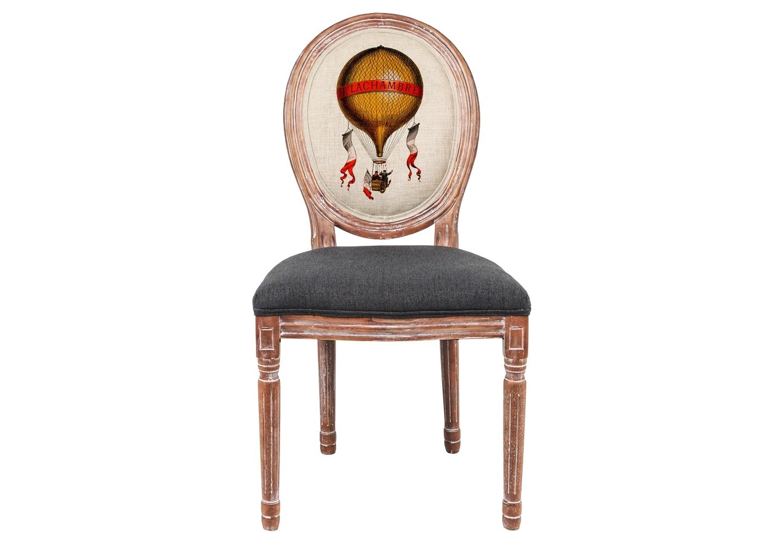Стул «Монгольфьер» версия 7Обеденные стулья<br>Стул &amp;quot;Монгольфьер&amp;quot; - универсальное, но отборное решение гостиной, столовой, спальни, кабинета, холла и детской комнаты. Мода на воздушные шары, взлетевшая над миром в середине XVIII века, не проходит никогда. Ведь воздух и свобода, романтика и праздник - стиль жизни, парящий высоко за пределами моды.<br>Фантазии, как известно, не имеют границ. Предоставьте же им абсолютную свободу и открытый простор! Обивка оснащена тефлоновым покрытием против пятен. <br>Прочность и долговечность сиденья обеспечены подвеской из эластичных ремней.<br><br>Material: Дерево<br>Width см: 50<br>Depth см: 55<br>Height см: 95