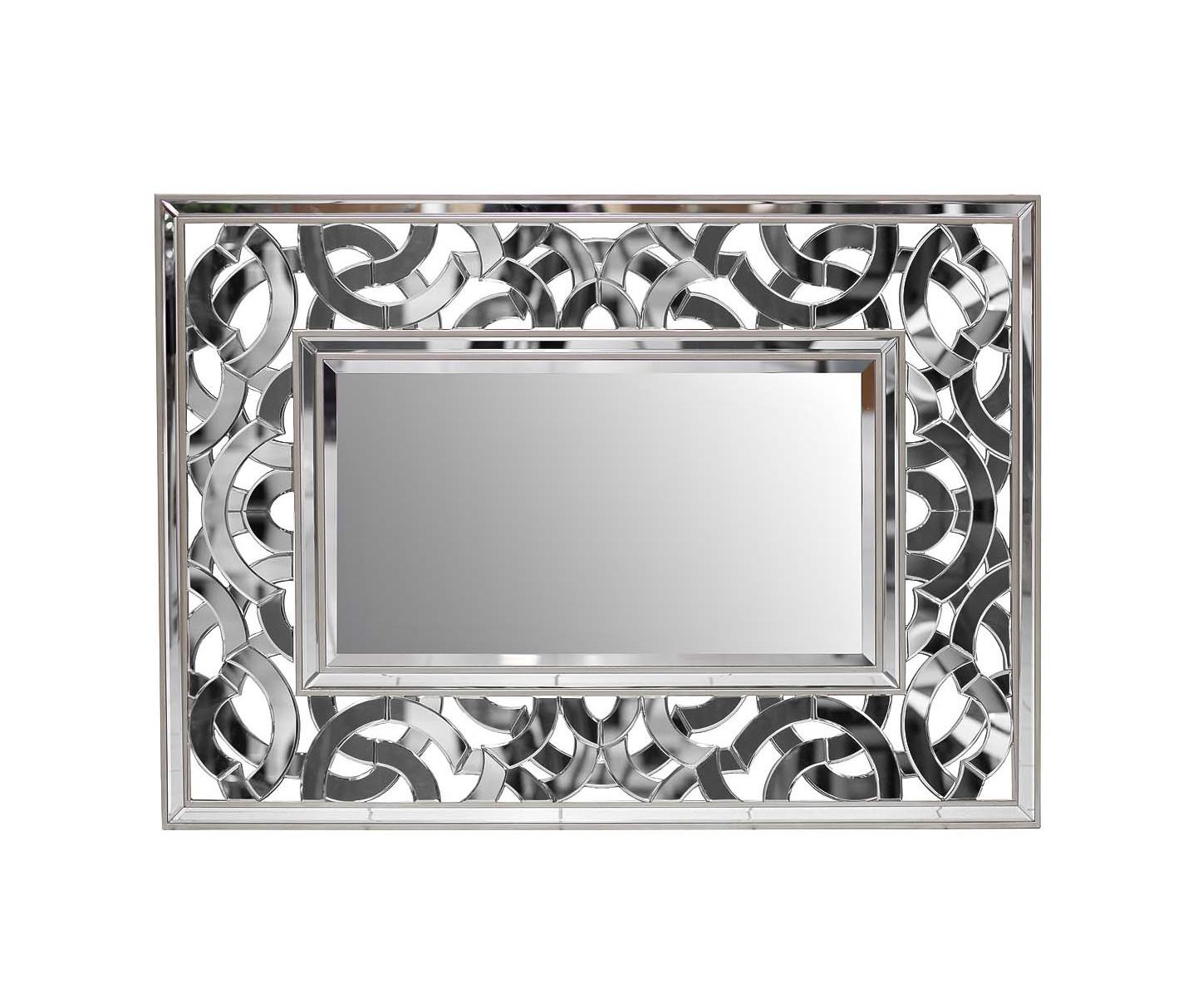 Зеркало декоративноеНастенные зеркала<br><br><br>Material: МДФ<br>Ширина см: 138<br>Высота см: 100<br>Глубина см: 2