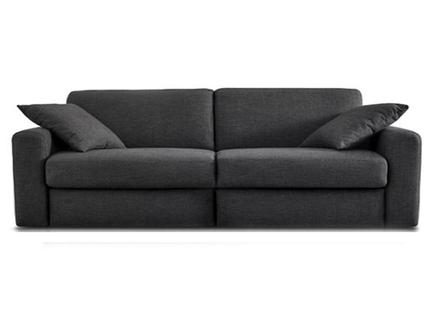 диван broadway (myfurnish) серый 180x80x90 см.