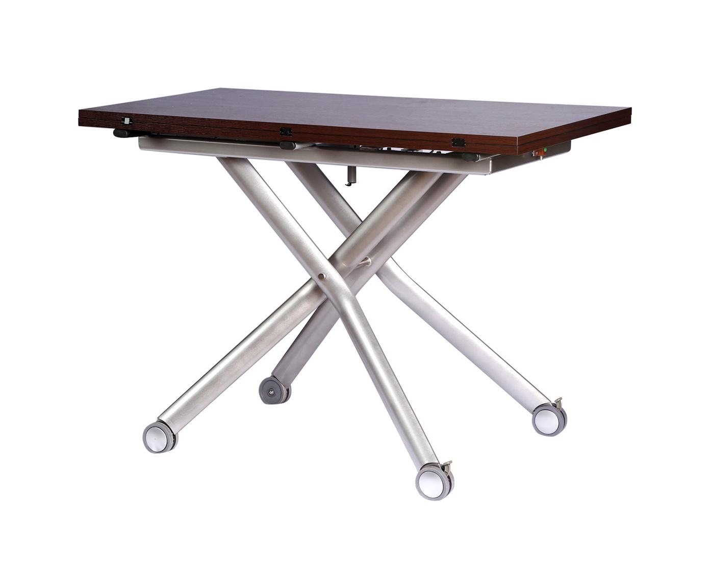 Стол трансформерОбеденные столы<br>Размер в разложенном виде: 60-110 см<br><br>Material: Дерево<br>Width см: 120<br>Depth см: 60<br>Height см: 75