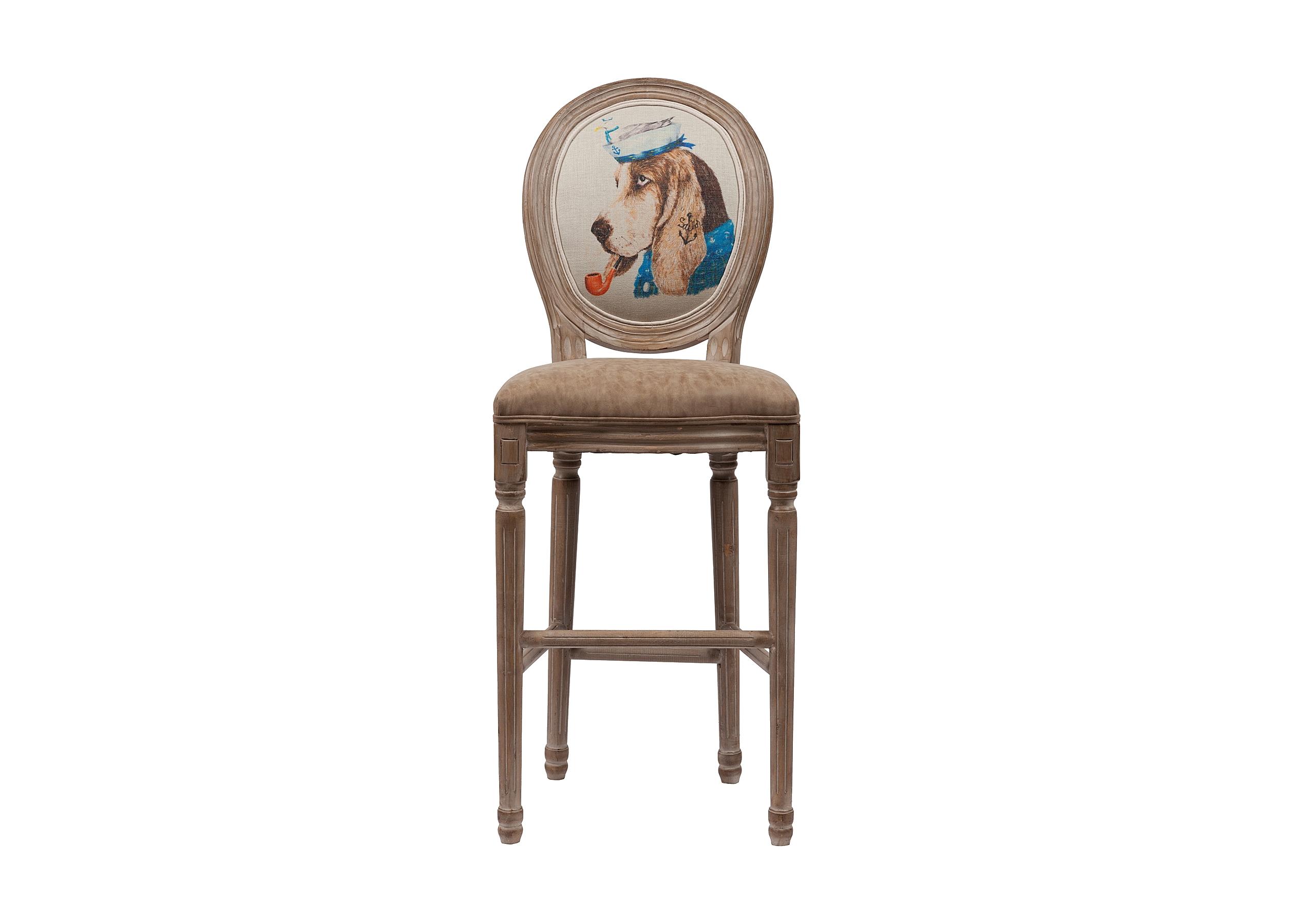 Стул Sailor DogБарные стулья<br>Основание: береза.&amp;lt;div&amp;gt;Обивка: поролон, экокожа.&amp;lt;/div&amp;gt;&amp;lt;div&amp;gt;Высота стула от пола до сидения 76 см.&amp;lt;/div&amp;gt;<br><br>Material: Кожа<br>Width см: 46<br>Depth см: 55<br>Height см: 94
