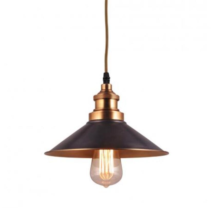 Светильник потолочныйПодвесные светильники<br>Создан по примеру творения американского изобретателя Томаса Эдисона – лампы накаливания в 19 веке. Лампы в стиле «Edison-style» хорошо знакомы миру. Поэтому легко узнаваемы и любимы.<br>Цоколь Е27<br>Мощность 60 Ватт<br>ожидаются в апреле<br>Лампочка в комплект не входит.<br><br>Material: Латунь<br>Высота см: 15
