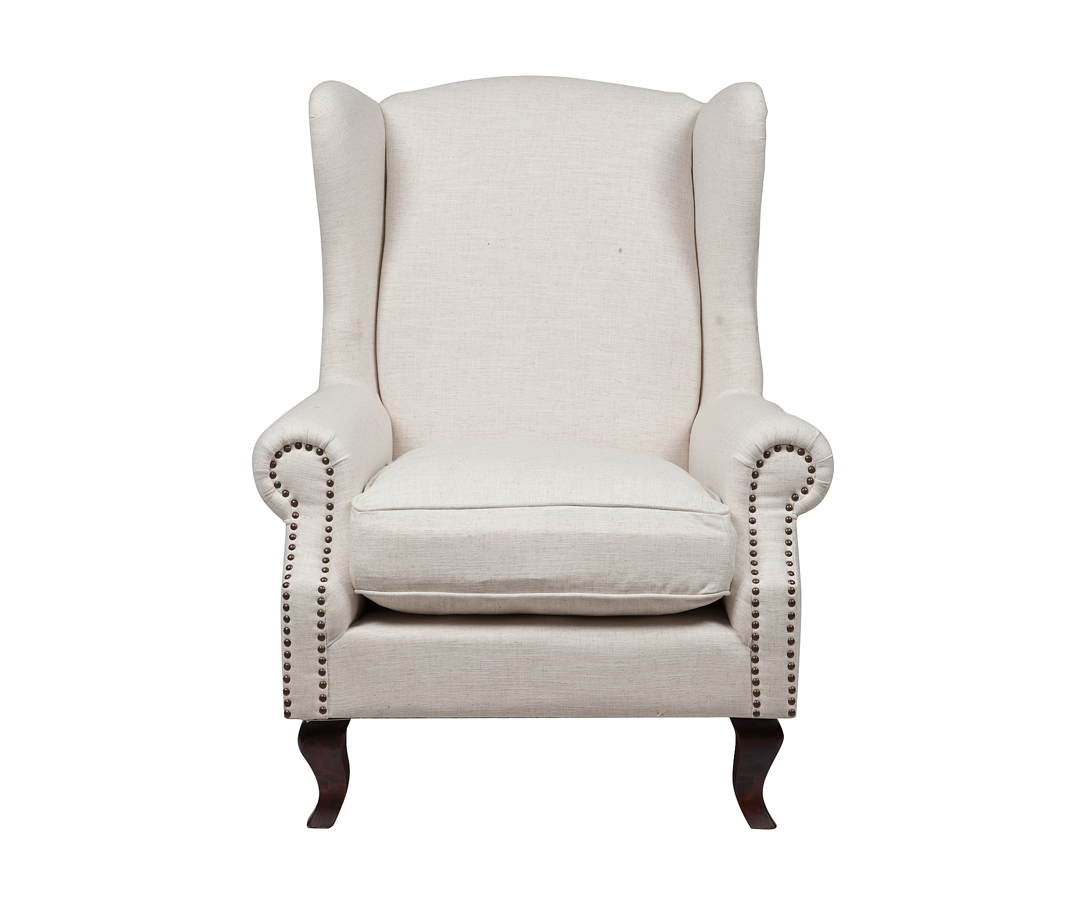 Кресло Collins Wingback ChairКресла с высокой спинкой<br><br><br>Material: Текстиль<br>Width см: 97<br>Depth см: 94<br>Height см: 114