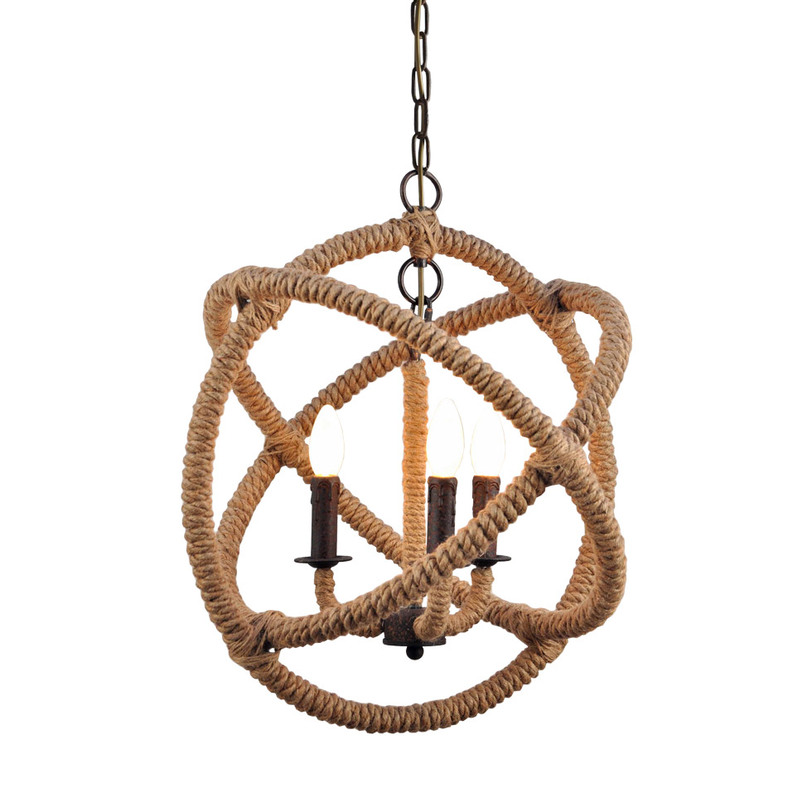 "Gramercy Люстра ""Rope small orb chandeler"""