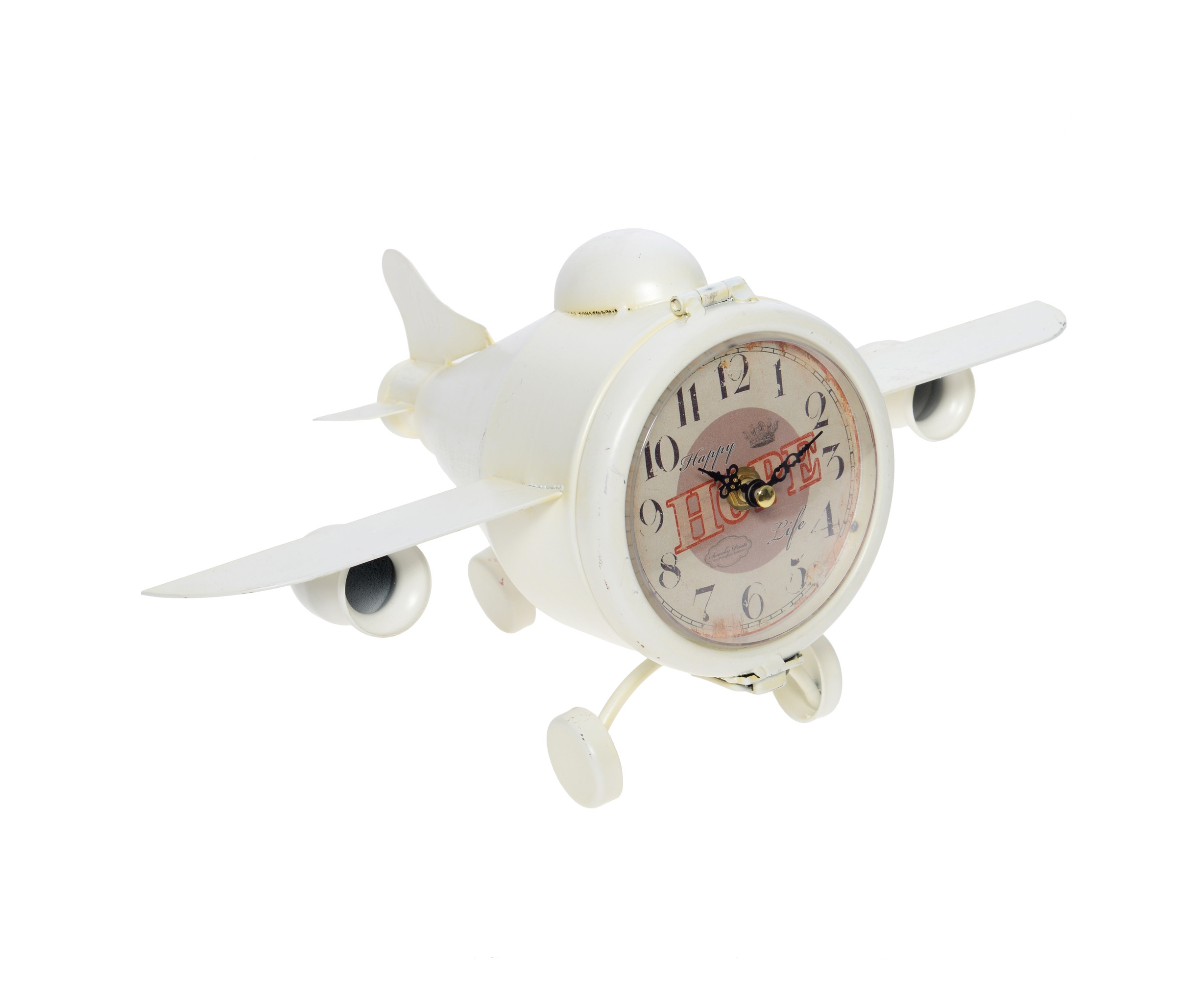 Часы настольные High PeakНастольные часы<br>&amp;lt;span style=&amp;quot;line-height: 24.9999px;&amp;quot;&amp;gt;Кварцевый механизм.&amp;lt;/span&amp;gt;<br><br>Material: Металл<br>Ширина см: 37.0<br>Высота см: 19.0<br>Глубина см: 22.0