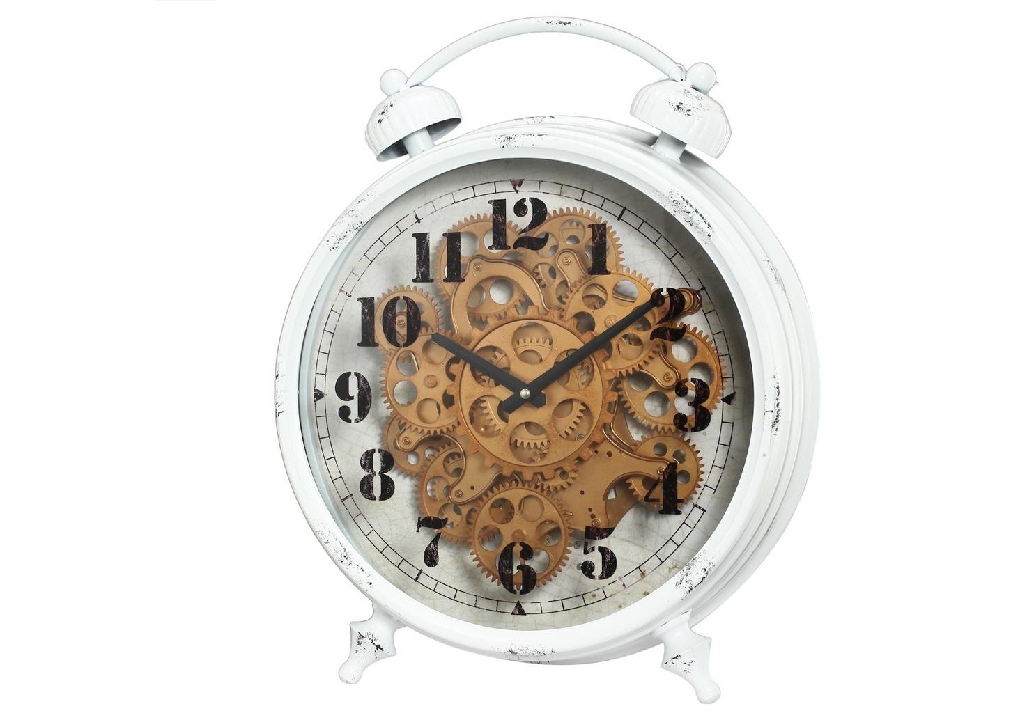 Часы настольныеНастольные часы<br>&amp;lt;div&amp;gt;&amp;lt;span style=&amp;quot;line-height: 24.9999px;&amp;quot;&amp;gt;Кварцевый механизм.&amp;lt;/span&amp;gt;&amp;lt;br&amp;gt;&amp;lt;/div&amp;gt;Вес 3.75 кг.<br><br>Material: Металл<br>Width см: 40<br>Depth см: 12,5<br>Height см: 46