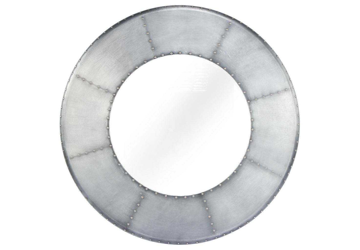 Зеркало настенноеНастенные зеркала<br>Вес 10,8 кг.<br><br>Material: Металл<br>Depth см: 5<br>Diameter см: 99
