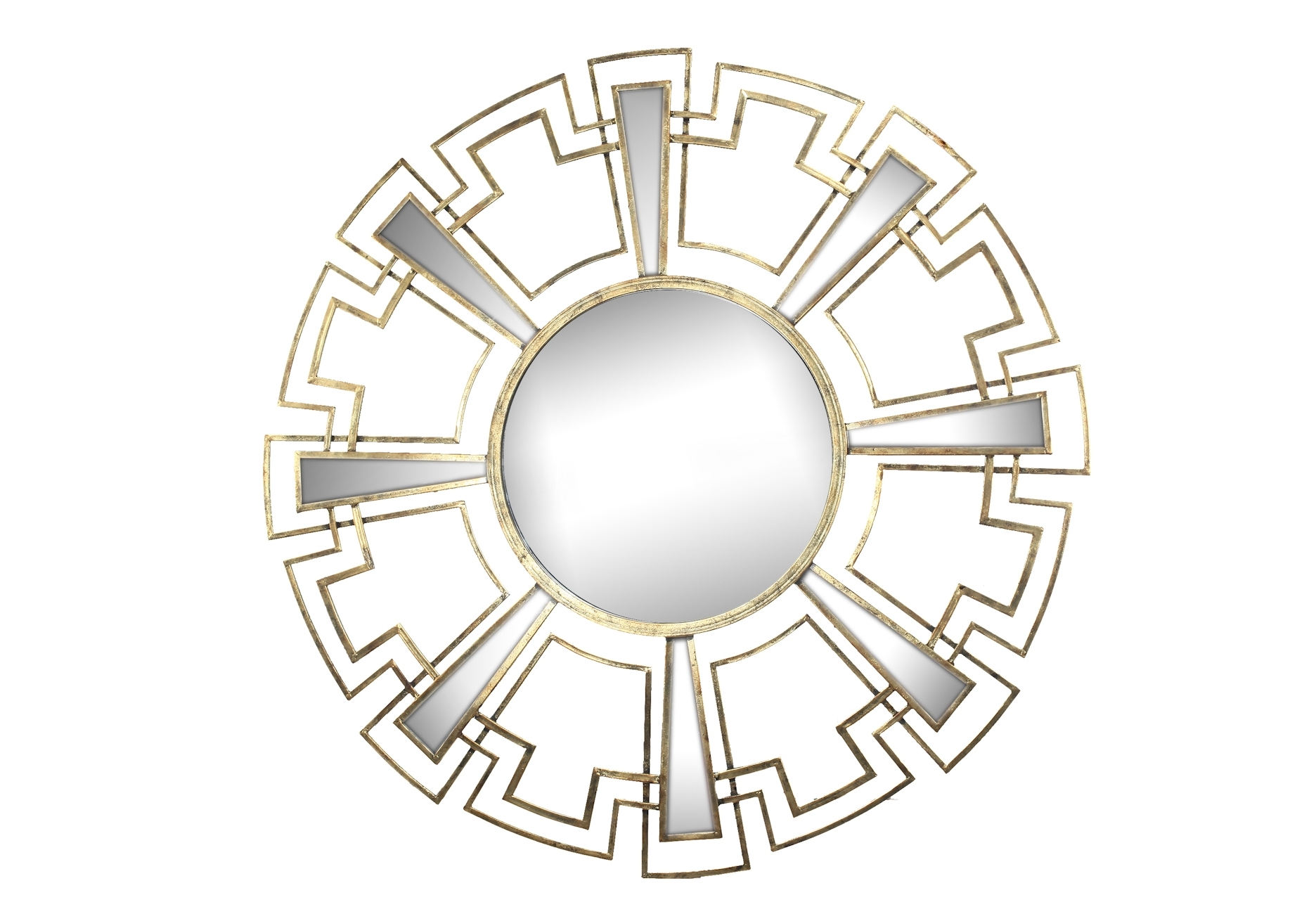 Зеркало настенноеНастенные зеркала<br>Вес 11.2 кг.<br><br>Material: Металл<br>Depth см: 3<br>Height см: None<br>Diameter см: 117