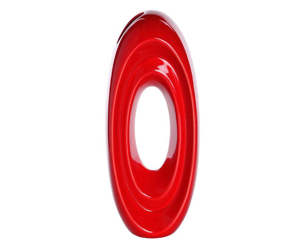 Ваза 502-1195Вазы<br>С первого взгляда трудно угадать назначение этого арт-объекта. Между тем, это яркая и стильная ваза, дизайн которой говорит сам за себя.<br><br>Португальская компания Farol (в переводе означает «маяк») изготавливает из керамики уникальные вазы и светильники, отличающиеся смелым дизайном и неповторимыми формами.<br><br>Material: Керамика<br>Length см: 13.5<br>Width см: 10<br>Height см: 34.5