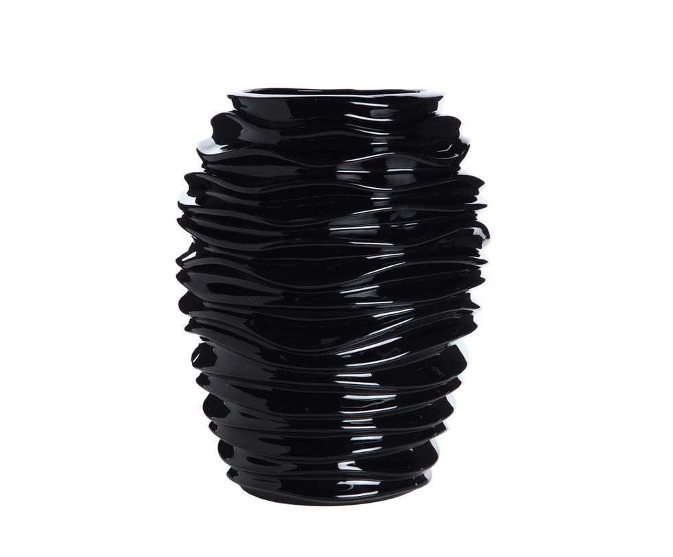ВазаВазы<br>Невозможно представить себе, что эта декоративная ваза выполнена из керамики. Кажется, будто она живая и все это множество изгибающихся блестящих плоскостей сейчас зашевелится. Эта ваза станет не только оригинальным аксессуаром и украсит интерьер, но и может быть полноправным арт-объектом, вызывая удивление и восхищение гостей.<br><br>Раскрыть потенциал интерьера и завершить его оформление эффектным, запоминающимся штрихом поможет продукция португальскойкомпании по производству изделий из керамики Farol. Модные и современные, они созданы специально для того, чтобы создавать неповторимый стиль и очарование, наполнять дом уютом и светом.<br><br>Material: Керамика<br>Width см: 35<br>Height см: 44