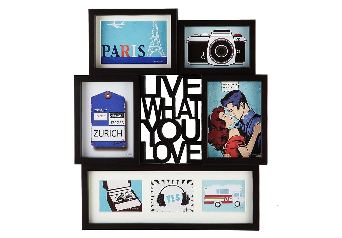 Панно для фотографий MottoРамки для фотографий<br>&amp;lt;div&amp;gt;Панно для фотографий Motto позволит в одном месте хранить все Ваши любимые снимки.&amp;lt;/div&amp;gt;&amp;lt;div&amp;gt;Панно вмещает три фотографии размером 12,7 х 17,8 см&amp;lt;/div&amp;gt;&amp;lt;div&amp;gt;Одну фотографию 10,2 х 15,2 см&amp;lt;/div&amp;gt;&amp;lt;div&amp;gt;И три снимка 12,7 х 12,7 см&amp;lt;/div&amp;gt;&amp;lt;div&amp;gt;Разместите самые яркие и запоминающиеся кадры из жизни и они будут поднимать Вам настроение очень долгое время!))&amp;lt;/div&amp;gt;&amp;lt;div&amp;gt;Крепится на стену при помощи стандартных дюбелей.&amp;lt;/div&amp;gt;<br><br>Material: Пластик<br>Ширина см: 42<br>Высота см: 48<br>Глубина см: 3