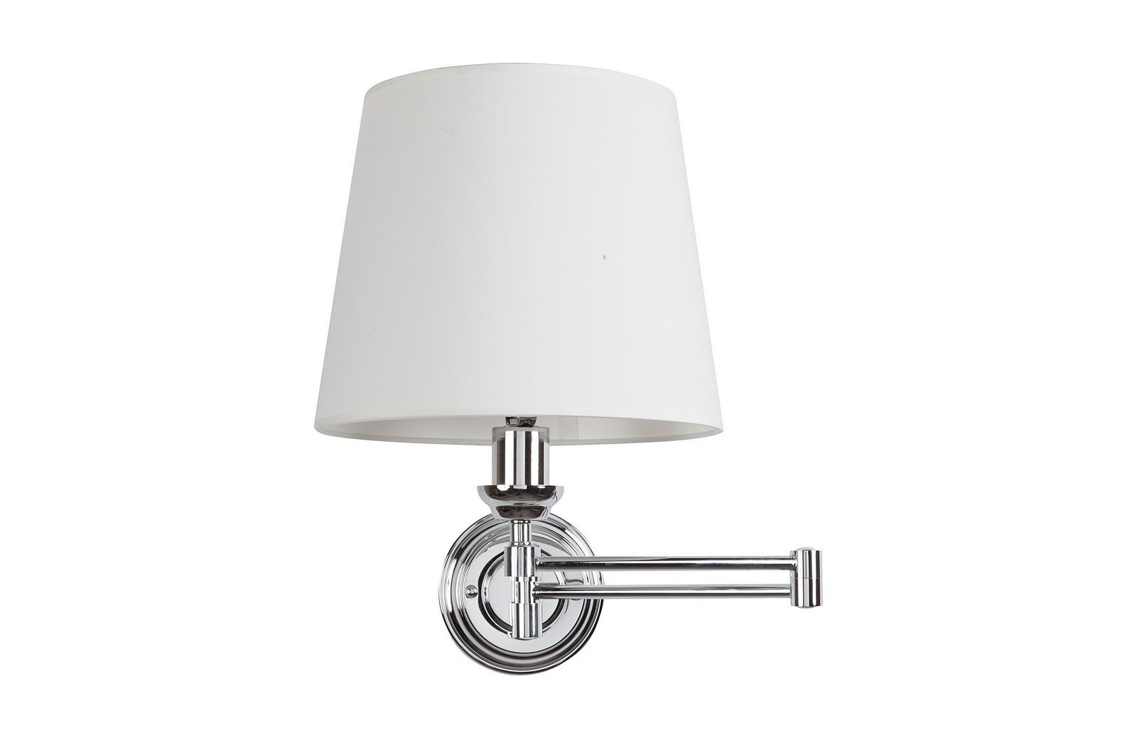 Бра Westbrook Light SwingarmБра<br>Стальное основание, тканевый абажур, предназначена для использования со светодиодными лампами, лампами не комплектуется.&amp;lt;br&amp;gt;&amp;lt;br&amp;gt;Вид цоколя: E27&amp;lt;br&amp;gt;Мощность ламп: 60W&amp;lt;br&amp;gt;Количество ламп: 1<br><br>Material: Металл<br>Width см: 38<br>Depth см: 35<br>Height см: 45
