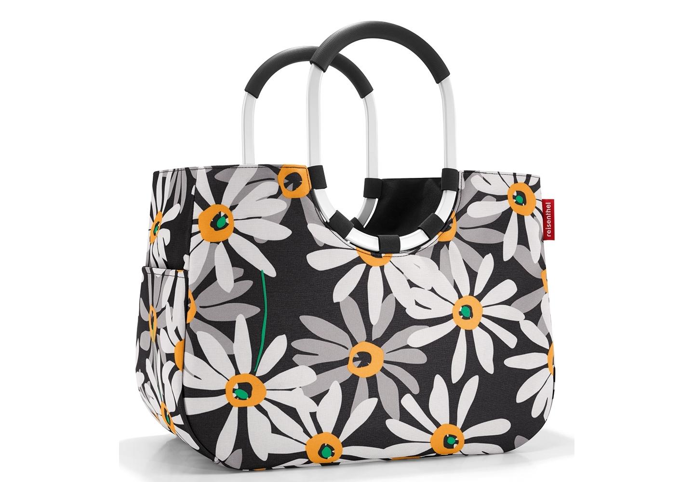 Сумка Loopshopper l margariteСумки<br>Элегантная шоппинг-сумка, которая выручит как в походе за продуктами, так и при сборах на дачу или на пикник. <br>- экологичная альтернатива одноразовым пакетам;<br>- ручки из прочного алюминия покрыты специальным материалом, благодаря которому сумку очень удобно носить в руках или на плече;<br>- два внешних и один внутренний карман;<br>- объем - 25 литров.<br><br>Material: Текстиль<br>Width см: 46<br>Depth см: 25<br>Height см: 33