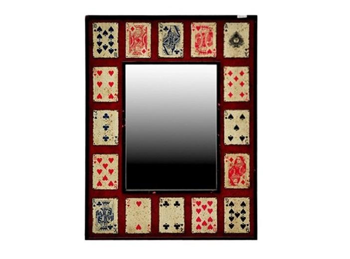 Зеркало JeuНастенные зеркала<br>Вес 12 кг.<br><br>Material: Сосна<br>Width см: 76<br>Depth см: 6<br>Height см: 106