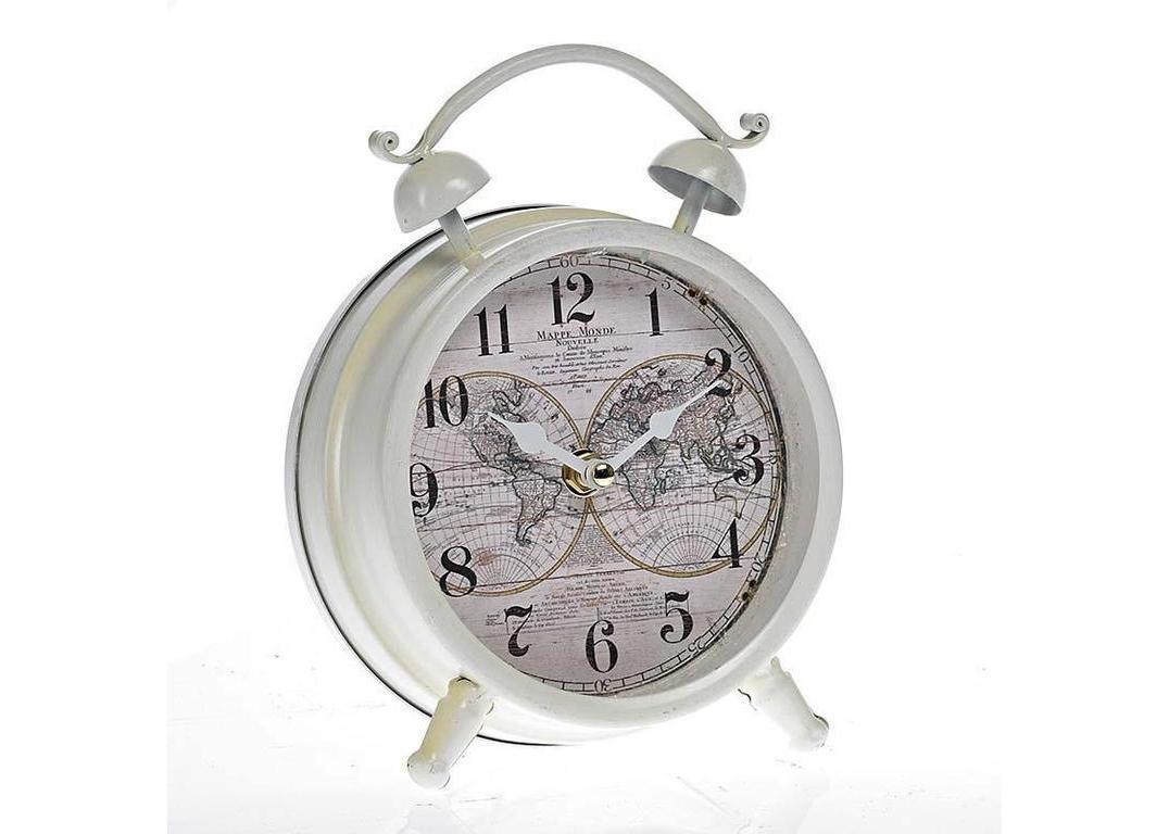 Настольные часы San DiegoНастольные часы<br>Кварцевый механизм.<br><br>Material: Металл<br>Ширина см: 16.0<br>Высота см: 21.0<br>Глубина см: 6.0
